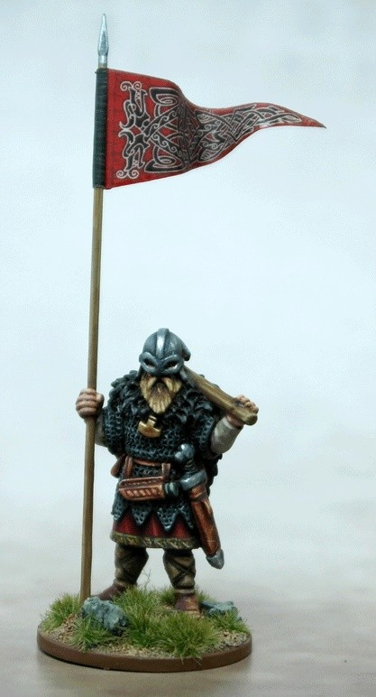 Viking Warbanner Bearer