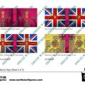 Photo of British 1st Division Infantry Flags (Sheet 2 of 3) (BRC002 )