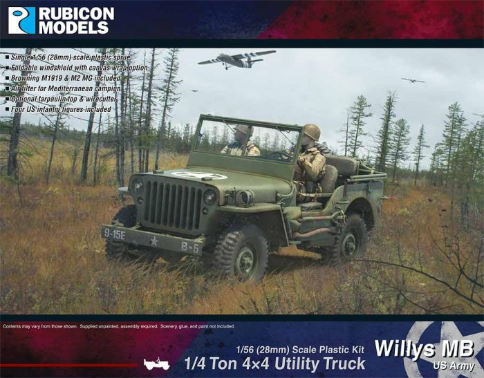 Willys MB ¼ ton 4x4 Truck (US Standard)