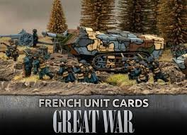 Great War - French Unit Cards