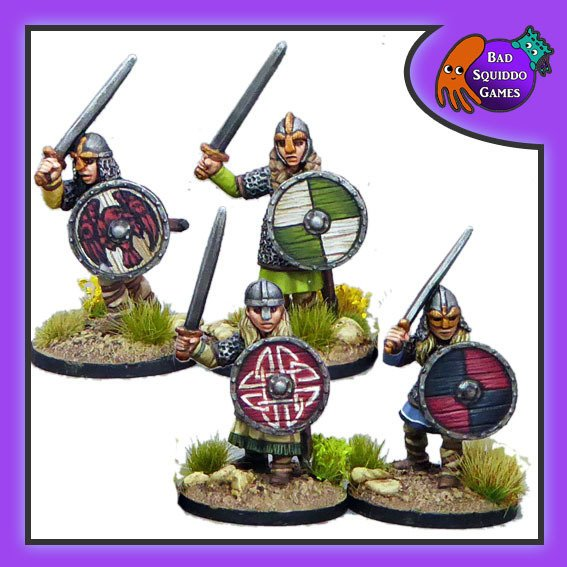 Shieldmaiden Hearthguard (with Swords)