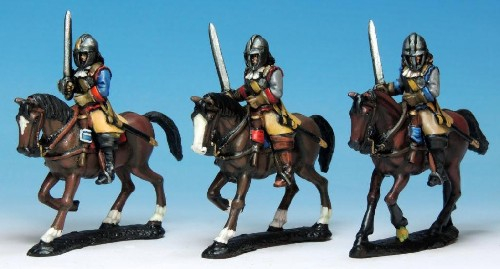 Armoured Cavalry in Helmets