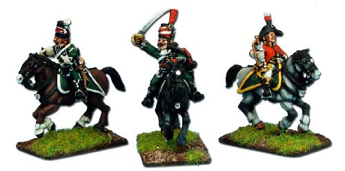 Lombardy Legion, Hussars Command