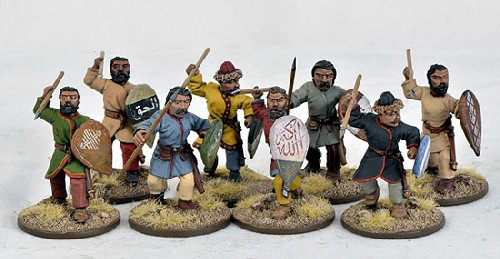 Saracen Warriors on Foot