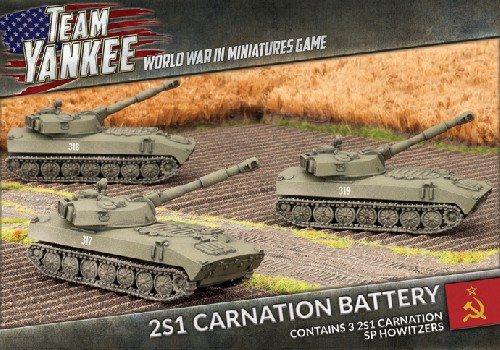 2S1 Carnation 122mm SP Howitzer (x3)