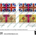 Photo of British Highland Division Infantry Flags (Sheet 4 of 4) (BRC021 )