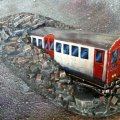 Photo of Crashed Tube Train (RC1001)