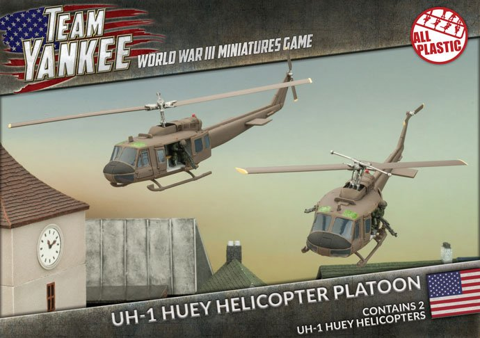 UH-1 Huey Helicopter Platoon