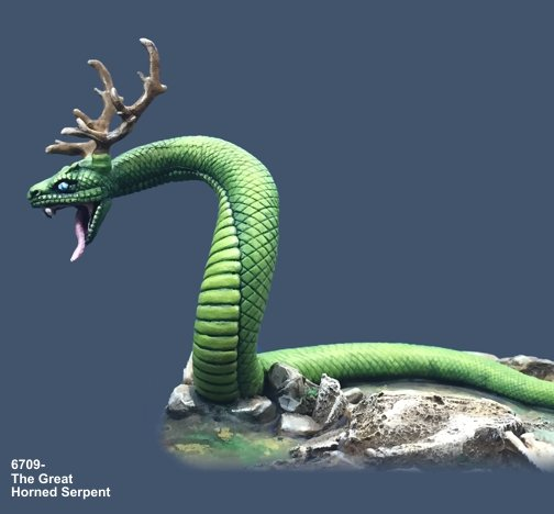 The Great Horned Serpent