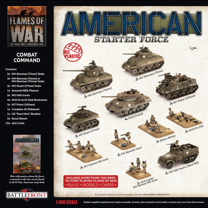 US Late War Starter set