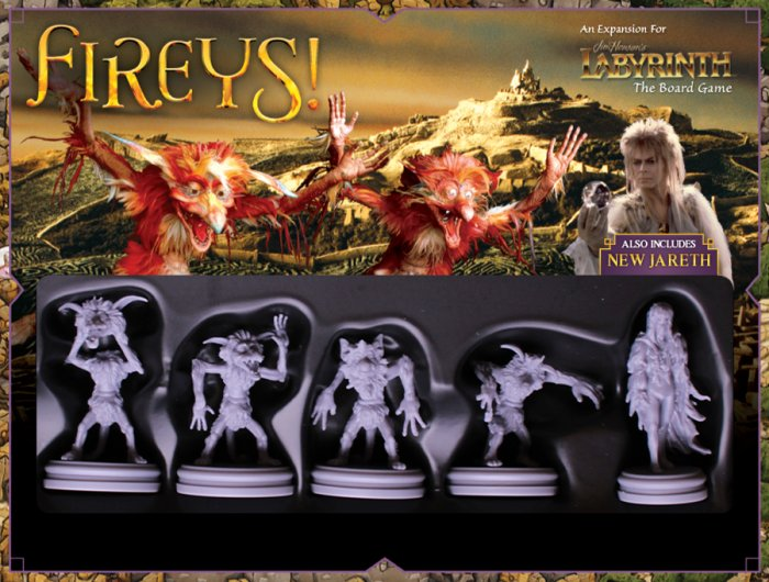 The Fireys! expansion for Jim Henson's Labyrinth