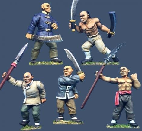 Tong Warriors w/ Assorted Weapons #1