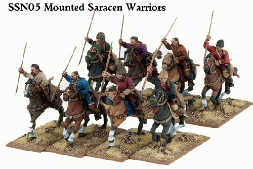 Saracen Mounted Warriors