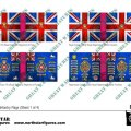 Photo of British Light Division Infantry Flags (Sheet 1 of 4) (BRC022 )