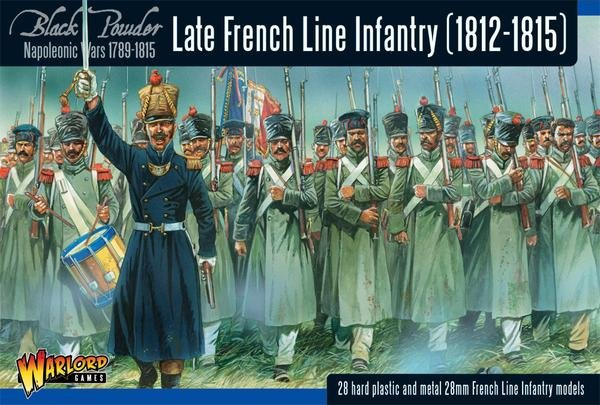 Late French Line Infantry (1812-1815) Revised