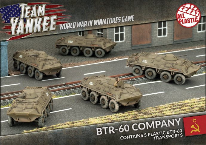 BTR-60 Transport Platoon