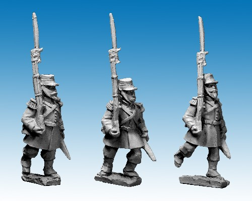 French Line Chasseur advancing