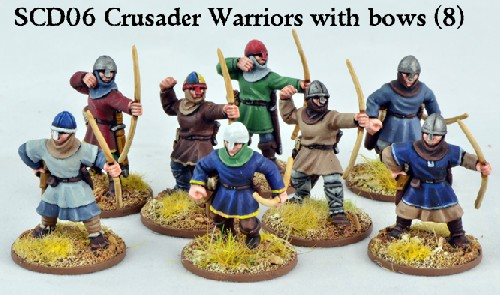 C&C Crusader Sergeants with Bows