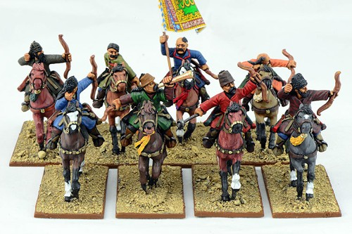 Saracen Mounted Warriors with Bows