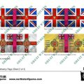 Photo of British Light Division Infantry Flags (Sheet 2 of 4) (BRC023)