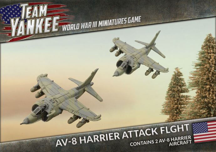 AV-8 Harrier Attack Flight