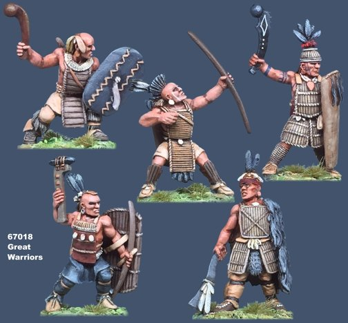Iroquoian Great Warriors
