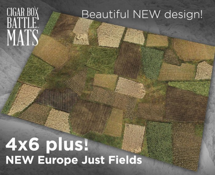 NEW EUROPE 2 JUST FIELDS