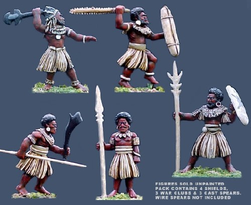 Melanesian Island Warriors 3