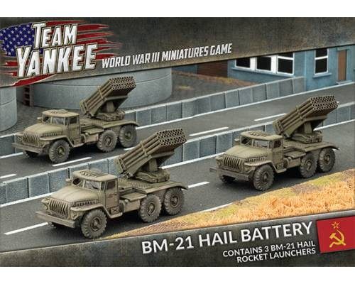 BM-21 Hail Rocket Launcher (x3)