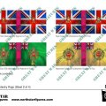 Photo of British 2nd Division Infantry Flags (Sheet 2 of 4) (BRC006)
