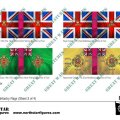 Photo of British Light Division Infantry Flags (Sheet 3 of 4) (BRC024 )