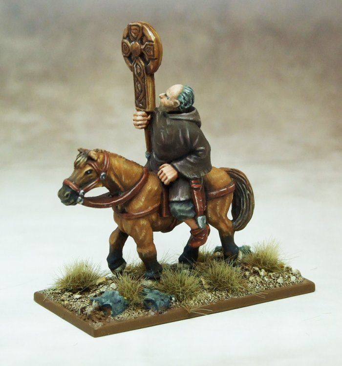 SAGA Mounted Celtic Christian Priest