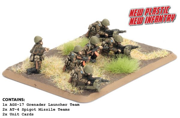 Motor Rifle Heavy Weapons Platoon (plastic)