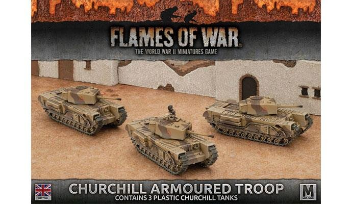 Churchill Armoured Troop