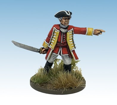 British Regular Infantry Officer
