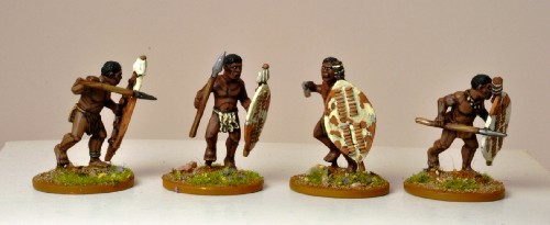 Matabele Warriors (unmarried)