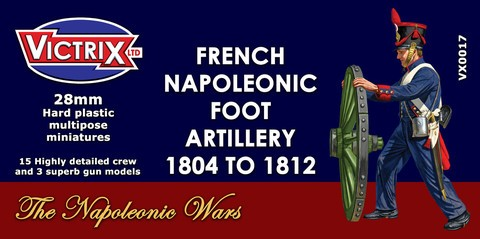 French Napoleonic Artillery 1804 to 1812