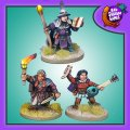 Photo of Dwarf Wizard, Bard and Rogue (BFM101)