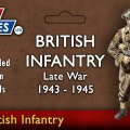 Photo of 12mm Late War British Infantry and Heavy Weapons (VG12014)