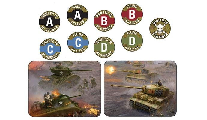 FOW - D-Day Mission Token Set