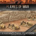 Photo of Desert Rats 6pdr Anti-tank Platoon (Plastic x 4) (BBX38)