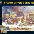 Photo of 8th Army 25 Pounder Light Artillery, Quad & Limber (402211001)