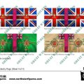 Photo of British 2nd Division Infantry Flags (Sheet 4 of 4) (BRC008)
