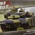 Photo of WORLD WAR III - British Unit Card Pack (WWIII-02U)